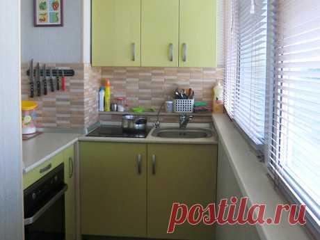 кухня на балконе передача– Google Поиск