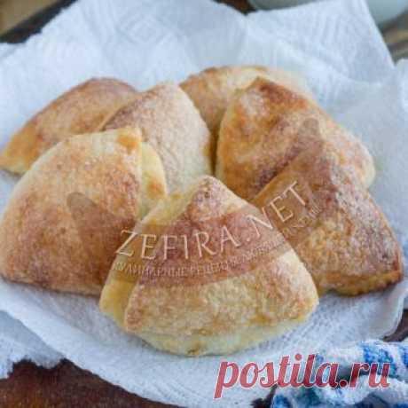 Вкуснейшие творожные треугольники с сахаром — Кулинарные рецепты любящей жены