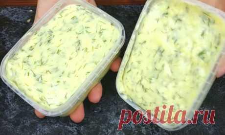 Сырная намазка вместо масла: сделали за 10 минут из полкило творога