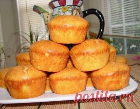 Творожные кексы - простой рецепт с отличным результатом | Четыре вкуса