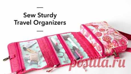 Sew Sturdy Travel Organizers Online Class | Bluprint