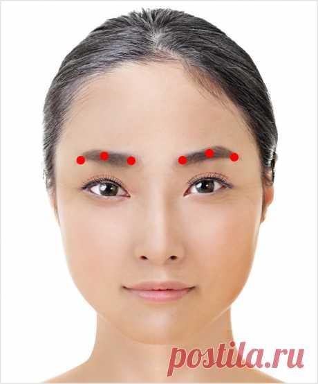 Японская техника для омоложения зоны вокруг глаз. Занимает всего 1минуту