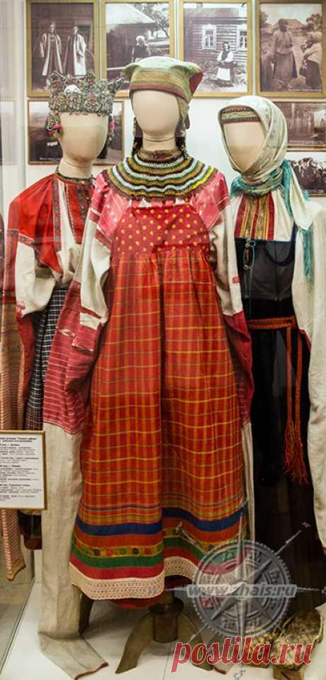 Народный костюм и его элементы