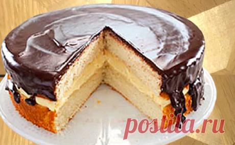 По вашим просьбам. Торт Чародейка - он же Бостонский кремовый торт | ChocoYamma | Яндекс Дзен