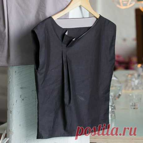 Складки вместо вытачек Модная одежда и дизайн интерьера своими руками