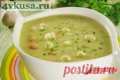 Крем — суп сырный   4vkusa.ru