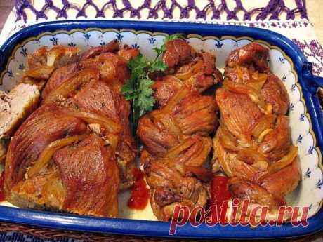 Мясное блюдо: эффектная подача + восхитительный вкус