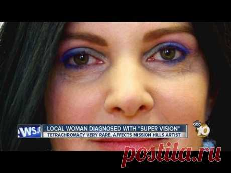 San Diego woman Concetta Antico diagnosed with 'super vision'