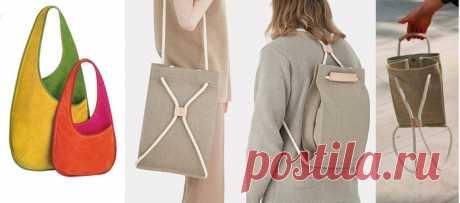 [Шитье] Стильная сумка, рюкзачок-трансформер и аппликации «Розы Эли Сааб». Готовые выкройки + мастер-класс