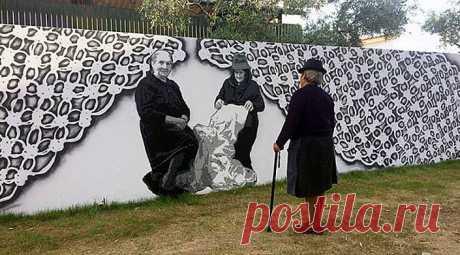 Польская художница придумала, как добавить уюта и душевности городским пейзажам