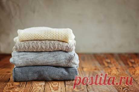 Как смягчить колючий шерстяной свитер   Делимся советами