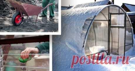 Как подготовить теплицу к зиме: полезные советы дачникам | Дела огородные (Огород.ru)