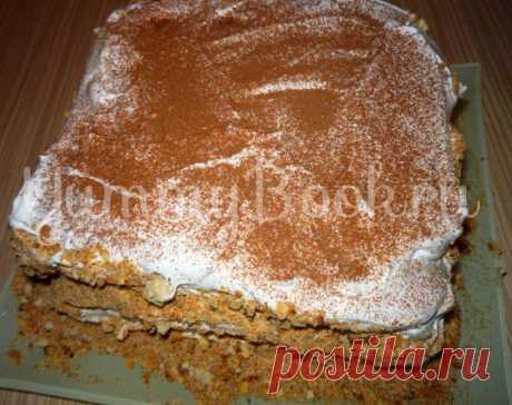Торт Руины Баальбека - пошаговый рецепт с фото