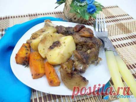 Утка кусочками с овощами: рецепт в духовке