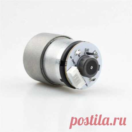 Moebius 12v 37gb-520 dc reduction motor metal gear speed regulating motor for robot rc car Sale - Banggood.com