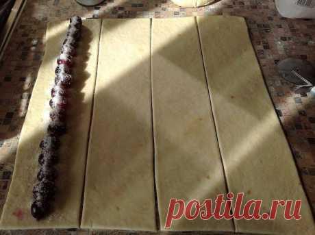 Пирог с вишней рецепт — Zaya.Su