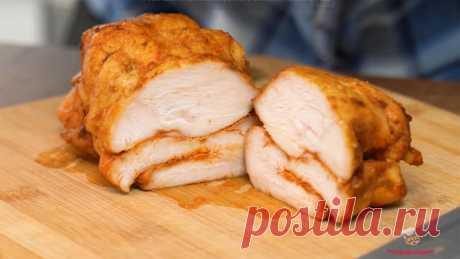 НЕ ПОКУПАЙТЕ МАГАЗИННУЮ КОЛБАСУ! Вот Вам отличный рецепт из куриной грудки! Сочная, ароматная для бутербродов лучше и не придумаешь! Всем советую брать на заметку