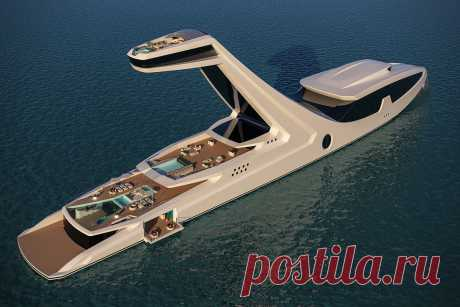 Unreal 150-meter Shaddai yacht! You will be delighted when you see it in all beauty! | Factsinter