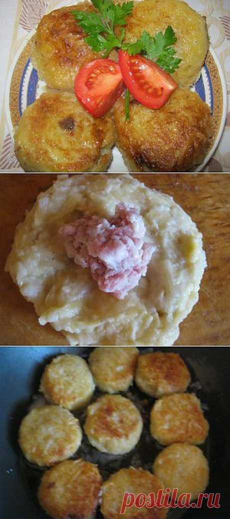 Клецки картофельные с мясом | 4vkusa.ru