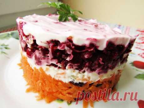 Салат «Осеннее настроение» — Sloosh – кулинарные рецепты