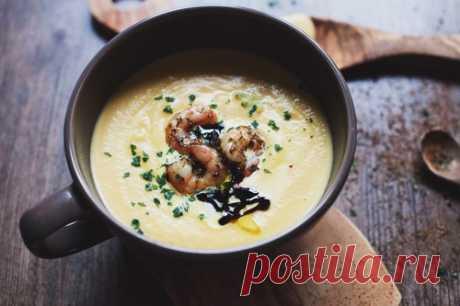 Для тех, кто любит кремовые супы! Топ-5 безумно вкусных и диетических супов-пюре.