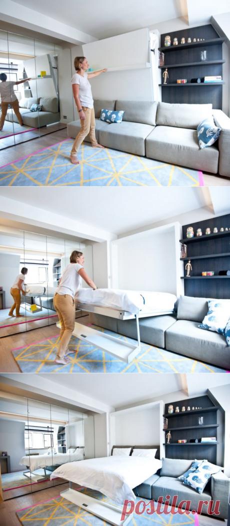 Дизайн интерьера квартиры 25 кв. м.