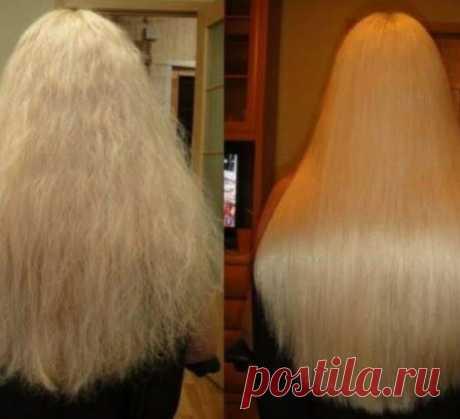 Маска, которая поможет предотвратить сильное выпадение волос / Все для женщины
