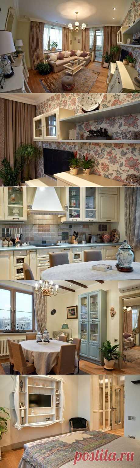 Интерьер квартиры в прованском стиле - фото ремонта | семиделка.ру