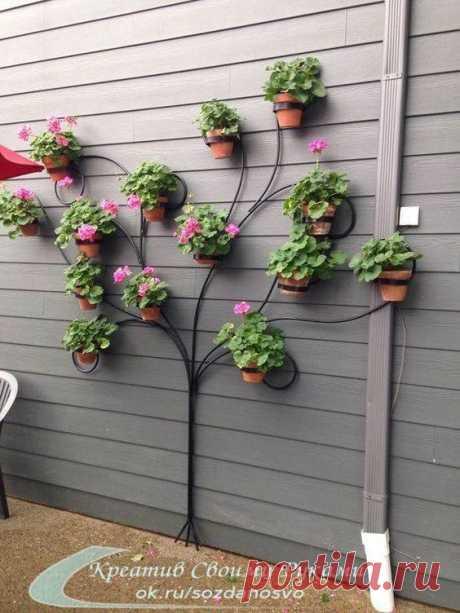 Креативные идеи для декора двора или дачного участка. | Люблю Себя