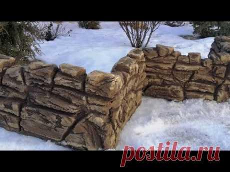 Универсальная поделка для сада.crafts made of cement