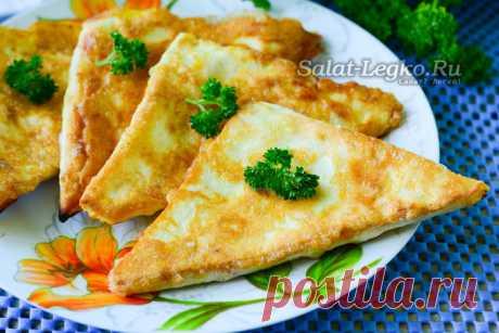 Лаваш с сыром и яйцом на сковороде: рецепт с фото пошагово