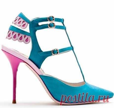 (+1) тема - Самая стильная обувь из новой коллекции Sophia Webster | Мода