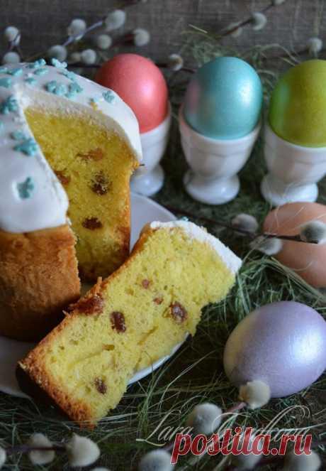CASEOSO BEZDROZHZHEVOY la ROSCA de Pascua por la receta de Lary Gudkovoy.