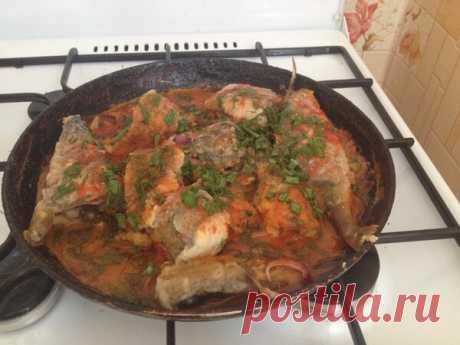 Блюдо из свежепойманной рыбы | Блоги о даче, рецептах, рыбалке