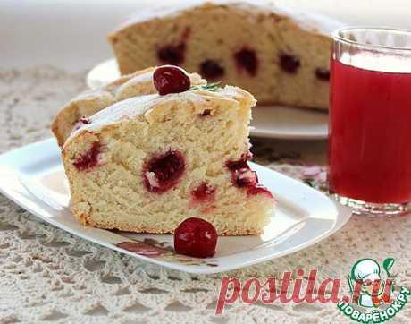 Пирог с вишней. Автор: Людмила Новосёлова
