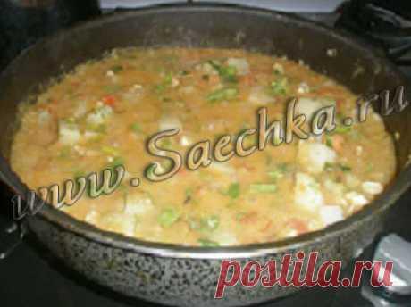 Чечевица с овощами   рецепты на Saechka.Ru