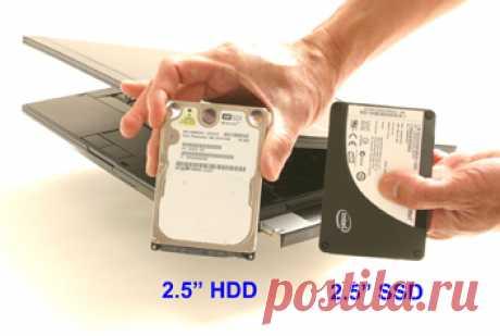 Установка SSD в ноутбук. Советы по установке вместо HDD