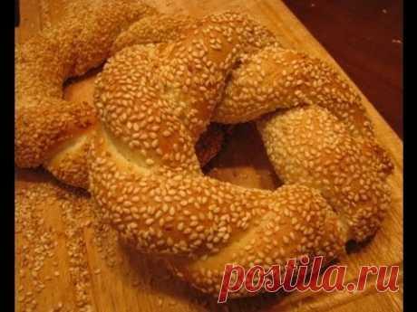 Турецкие бублики (Simit)