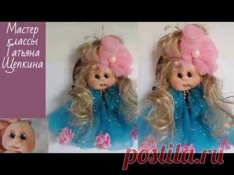 Кукла своими руками. Кукла подвеска.Сувенир своими руками.Подарок делаем сами.Muñeca soft