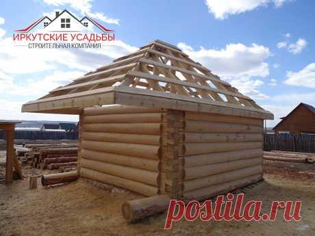 Строим тёплые и уютные ДОМА ИЗ БРУСА в Иркутске и Иркутской области от 6500 руб/м2