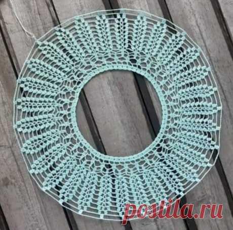 Красивый узор для вязания крючком