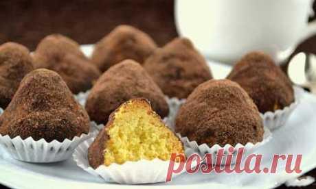 Очень простое в приготовлении и необыкновенно вкусное печенье «Трюфель»