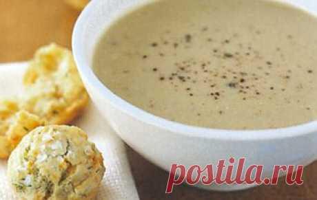 Молочный суп-пюре с орехами / Молочные супы / TVCook: пошаговые рецепты c фото