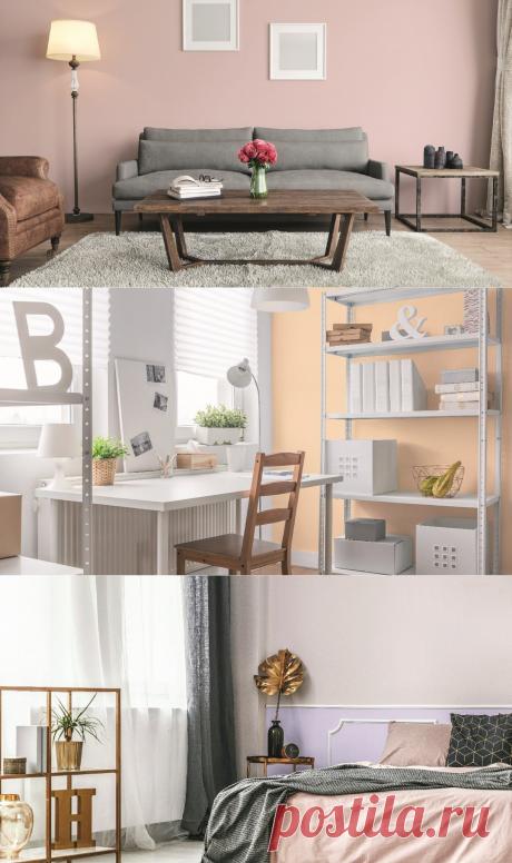 Цвет в квартире - пастельные цвета добавят свежести