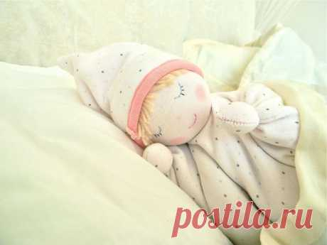 Вальдорфская кукла-бабочка / Мир игрушки / Вальдорфская кукла