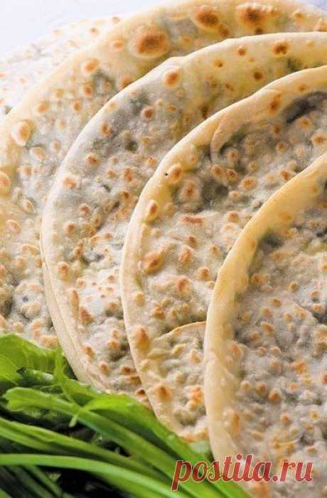 Афарар (Лезгинская вегетарианская пицца) — Sloosh – кулинарные рецепты