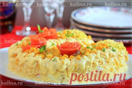 Gold Horseshoe salad – the recipe of preparation with a photo from Kulina.Ru