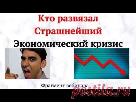 Для чего развязали  Страшнейший Экономический кризис
