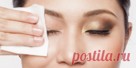 Удаляем макияж: как правильно снять тушь и тени с глаз | Своими руками