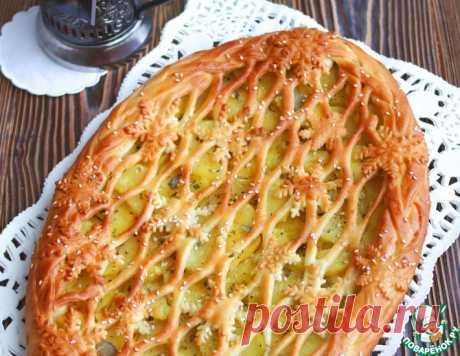 Пирог с картофелем и сливочным маслом – кулинарный рецепт